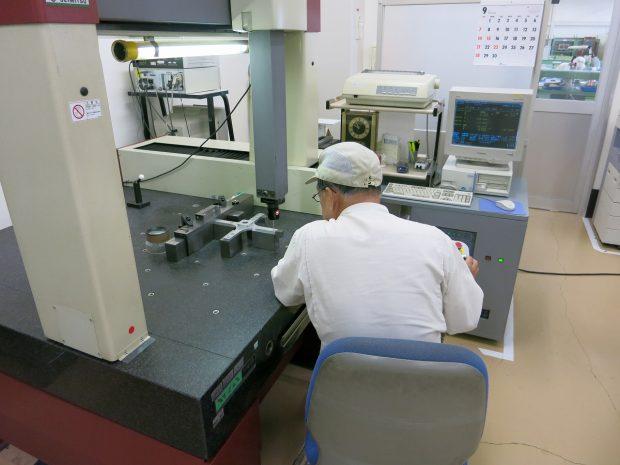 最新の検査設備による測定検査