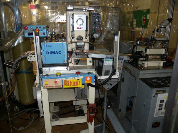 高い生産性を誇るプレス加工設備2